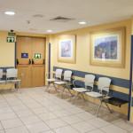 Sala de espera Hospital Quirón San Camilo
